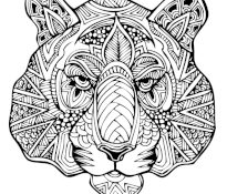 Agréable Coloriage Complexe 21 Pour Coloriage Pages with Coloriage Complexe