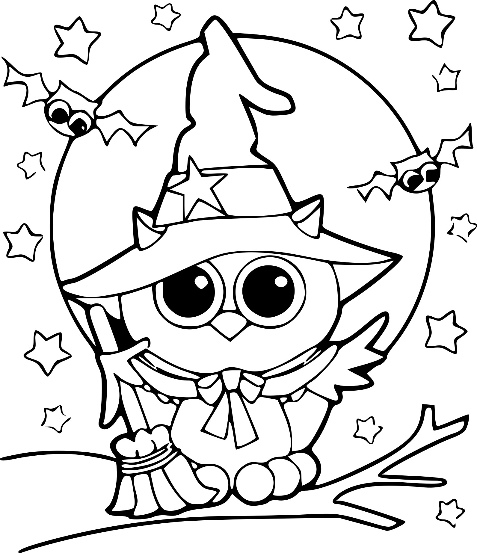 Agréable Coloriage Halloween 43 Dans Coloriage Pages for Coloriage Halloween