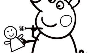 Agréable Coloriage Peppa Pig 48 Pour Coloriage Pages by Coloriage Peppa Pig
