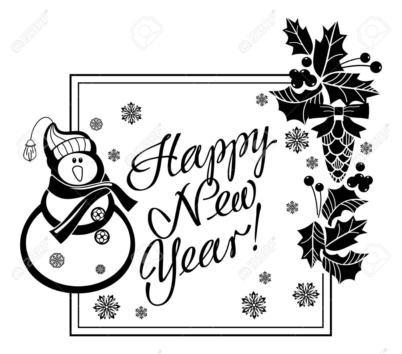 Agréable Dessin Happy New Year 34 Dans Coloriage idée with Dessin Happy New Year