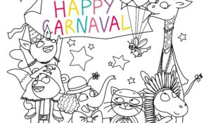 Charmant Carnaval Coloriage 34 sur Coloriage Inspiration for Carnaval Coloriage