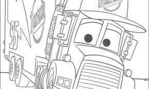 Charmant Coloriage Cars Mack 16 sur Coloriage idée by Coloriage Cars Mack