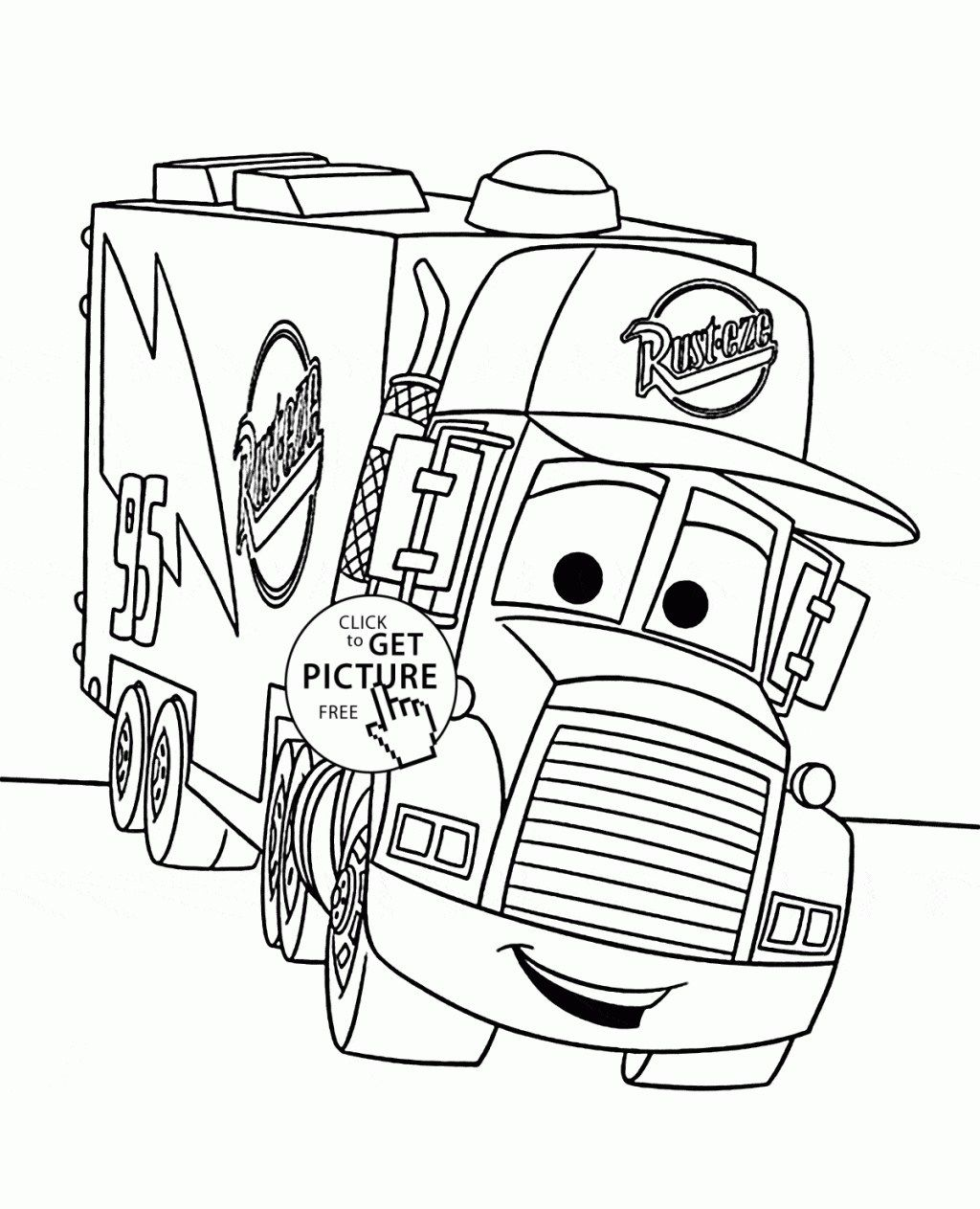 Charmant Coloriage Cars Mack 60 Dans Coloriage Books with Coloriage Cars Mack