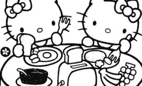 Charmant Coloriage De Hello Kitty 56 Pour Coloriage Inspiration with Coloriage De Hello Kitty
