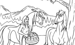 Charmant Coloriage De Spirit 94 Pour Coloriage Pages with Coloriage De Spirit
