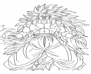 Charmant Coloriage Dragon Ball Z Sangoku Super Sayen 4 74 Dans Coloriage Inspiration by Coloriage Dragon Ball Z Sangoku Super Sayen 4