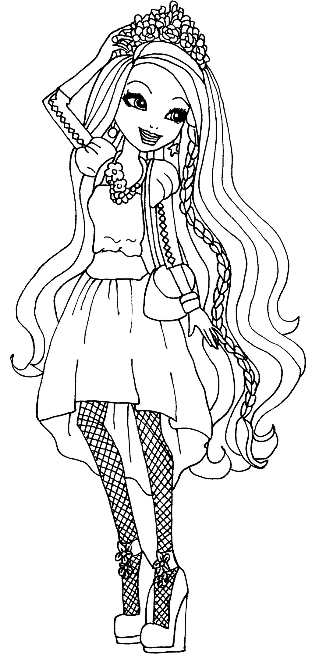 Charmant Coloriage Ever After High 50 Avec supplémentaire Coloriage Pages with Coloriage Ever After High