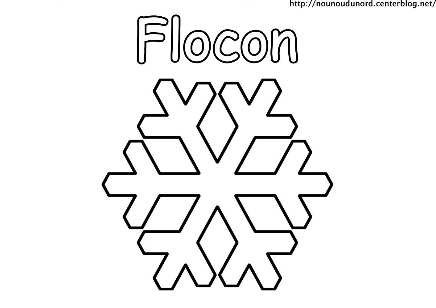 Charmant Coloriage Flocons 61 Dans Coloriage Inspiration for Coloriage Flocons