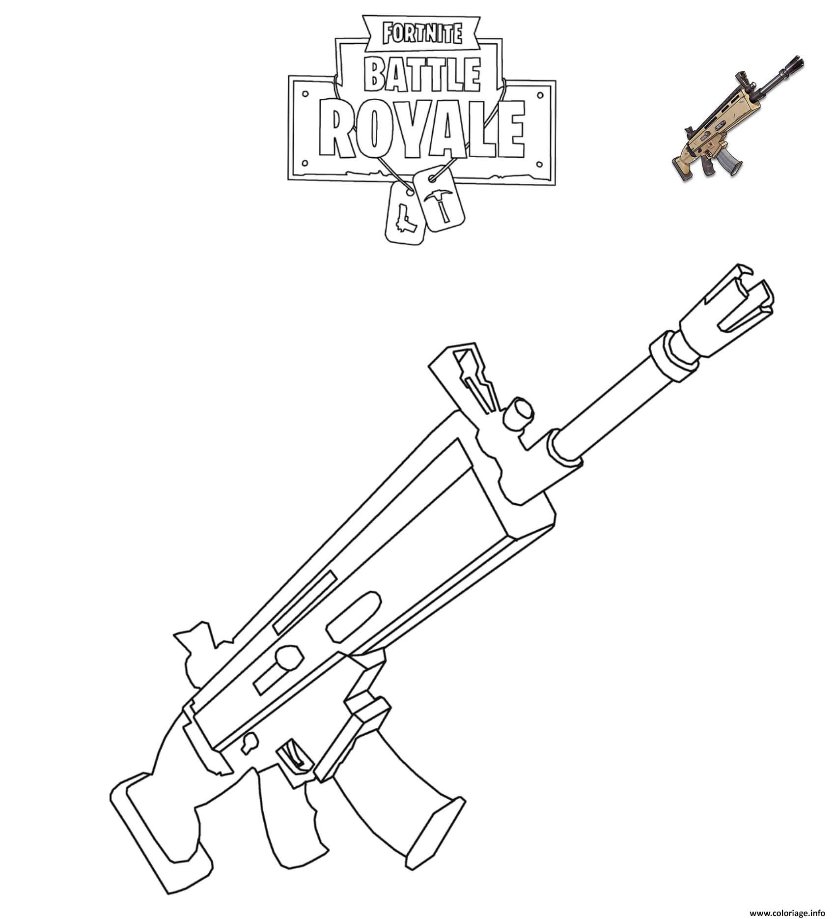 Charmant Coloriage Fortnite 84 sur Coloriage Inspiration with Coloriage Fortnite