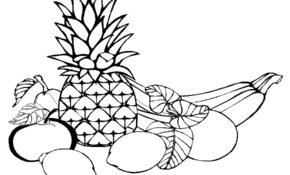 Charmant Coloriage Fruits Exotiques 90 sur Coloriage Pages with Coloriage Fruits Exotiques