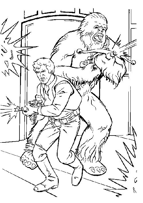 Charmant Coloriage Han Solo 57 Dans Coloriage Inspiration with Coloriage Han Solo