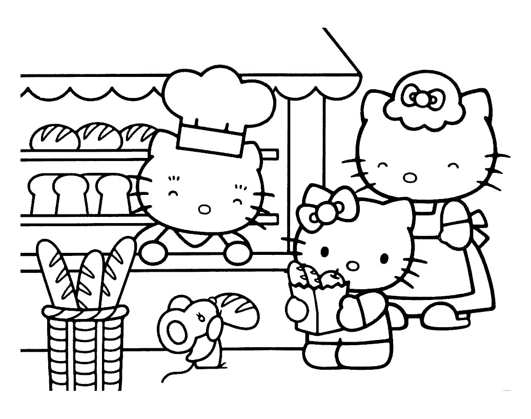 Charmant Coloriage Hello Ketty 31 Pour Coloriage Pages for Coloriage Hello Ketty