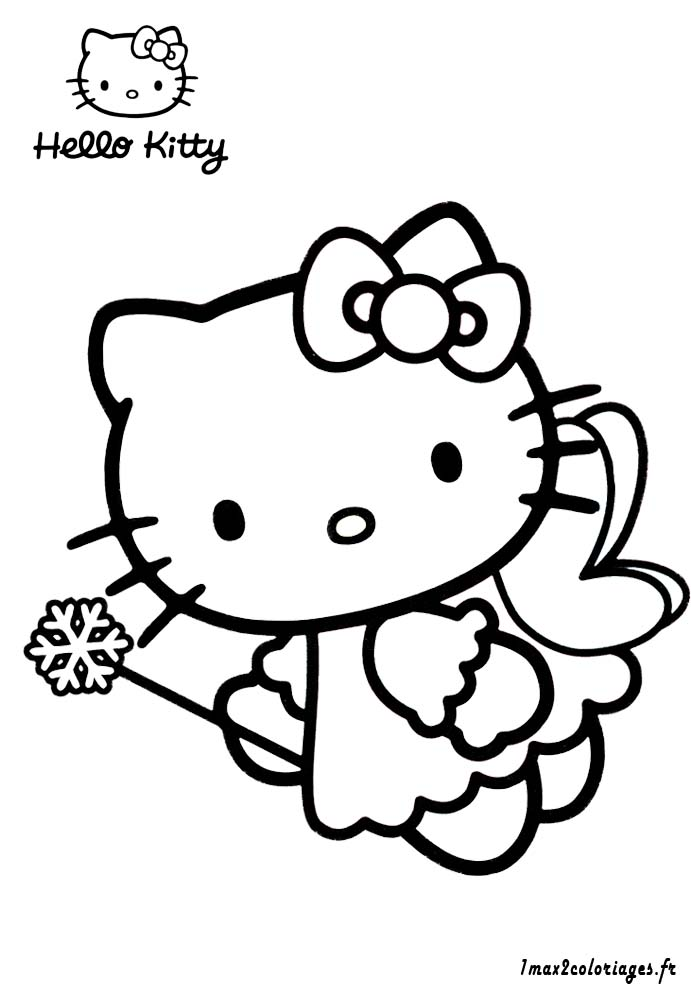 Charmant Coloriage Hello Kitty Fée 84 Dans Coloriage idée for Coloriage Hello Kitty Fée