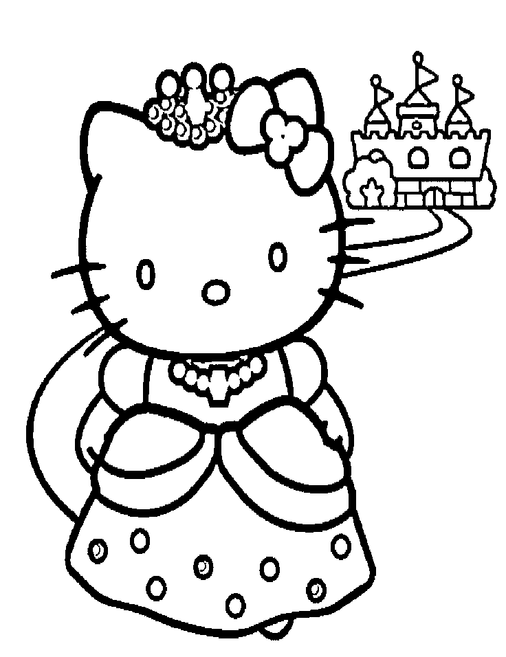 Charmant Coloriage Hello Kitty Fée 91 Dans Coloriage Inspiration with Coloriage Hello Kitty Fée