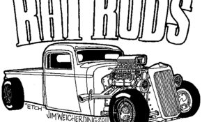Charmant Coloriage Hot Rod 28 Avec supplémentaire Coloriage idée for Coloriage Hot Rod