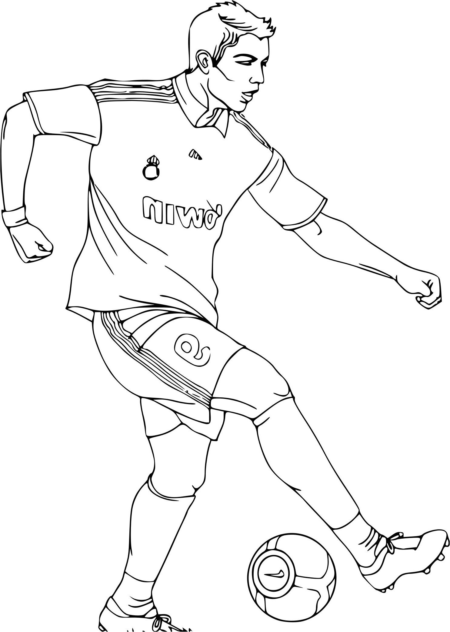 Charmant Coloriage Mbappe 59 Dans Coloriage Books by Coloriage Mbappe