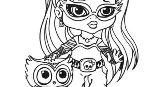Charmant Coloriage Monster High Baby 93 Avec supplémentaire Coloriage idée with Coloriage Monster High Baby
