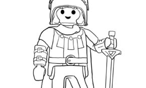 Charmant Coloriage Playmobil Chevalier 52 Dans Coloriage idée for Coloriage Playmobil Chevalier