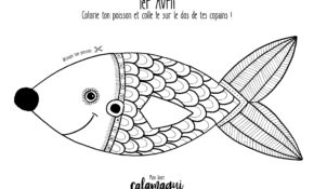 Charmant Coloriage Poisson D Avril 17 Pour Coloriage Pages by Coloriage Poisson D Avril