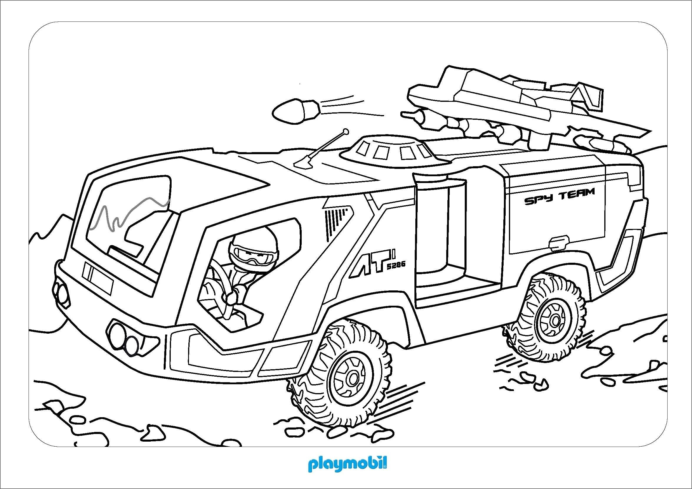 Charmant Coloriage Police Playmobil 29 Avec supplémentaire Coloriage Pages for Coloriage Police Playmobil