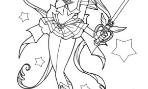Charmant Coloriage Sailor Moon Crystal 84 Avec supplémentaire Coloriage idée with Coloriage Sailor Moon Crystal