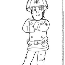 Charmant Coloriage Sam Le Pompier 33 sur Coloriage Books with Coloriage Sam Le Pompier