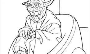 Charmant Coloriage Star Wars Yoda 86 Pour votre Coloriage Pages by Coloriage Star Wars Yoda