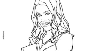 Charmant Coloriage Violetta 14 Pour Coloriage Books with Coloriage Violetta