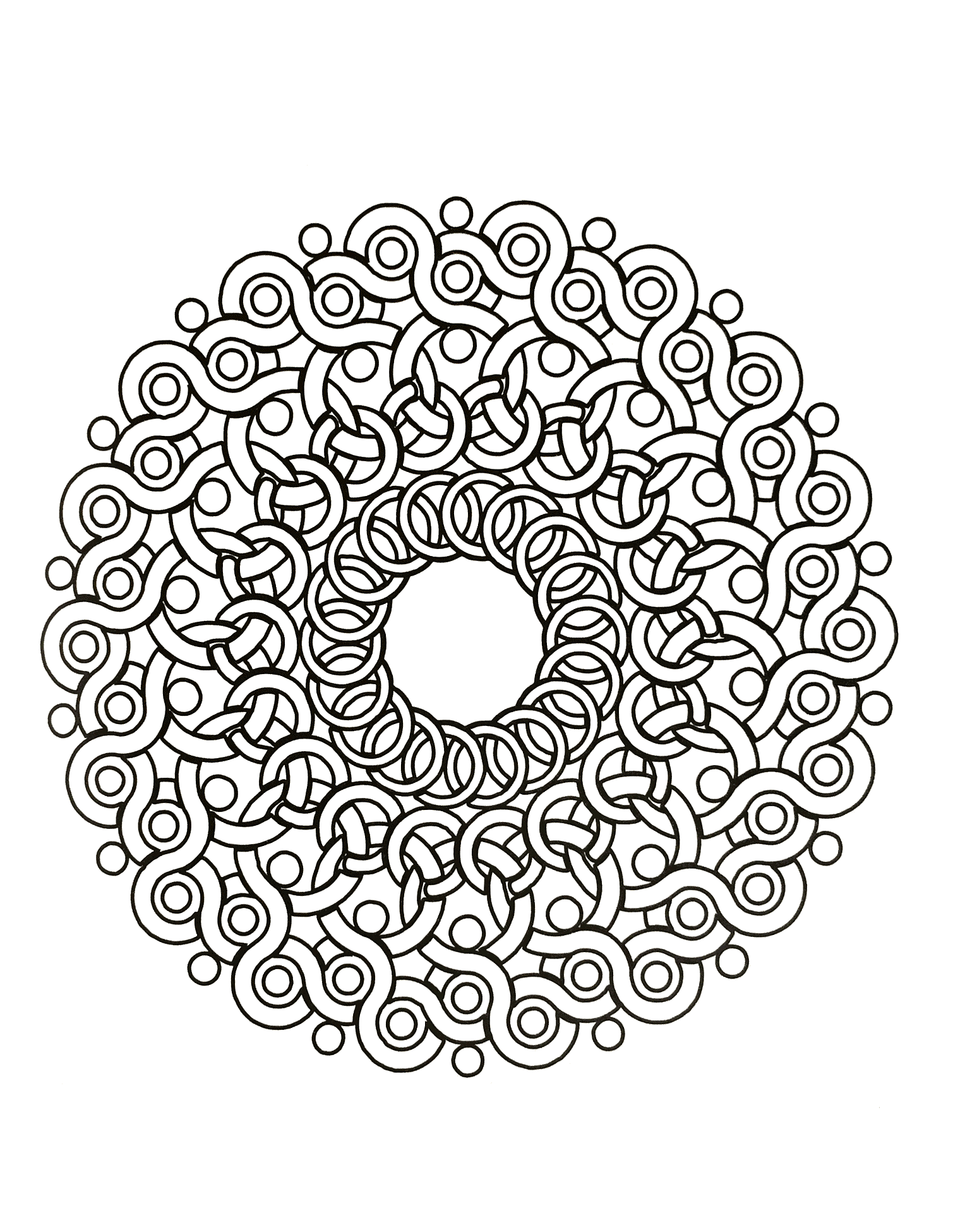 Charmant Dessin à Colorier Gratuit Mandala 75 Pour Coloriage Pages for Dessin à Colorier Gratuit Mandala