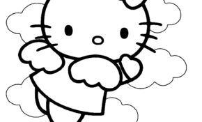 Charmant Dessin De Hello Kitty En Couleur 59 Dans Coloriage Pages with Dessin De Hello Kitty En Couleur
