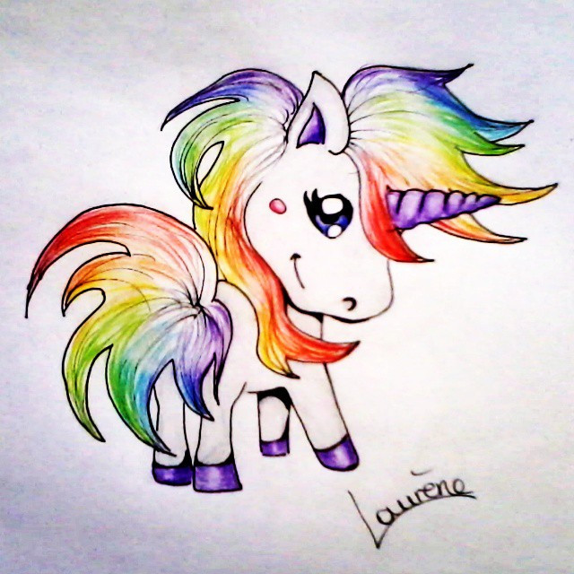 Charmant Image Licorne Swag 91 Pour Coloriage Pages with Image Licorne Swag