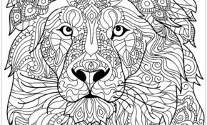 Charmant Mandala à Imprimer Difficile Lion 11 Dans Coloriage Pages for Mandala à Imprimer Difficile Lion