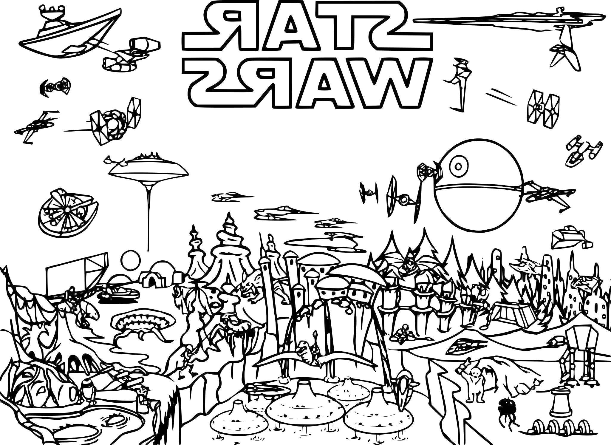 Charmant Star Wars Dessin à Imprimer 25 sur Coloriage Inspiration for Star Wars Dessin à Imprimer