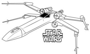 Charmant X Wing Coloriage 61 sur Coloriage Pages with X Wing Coloriage