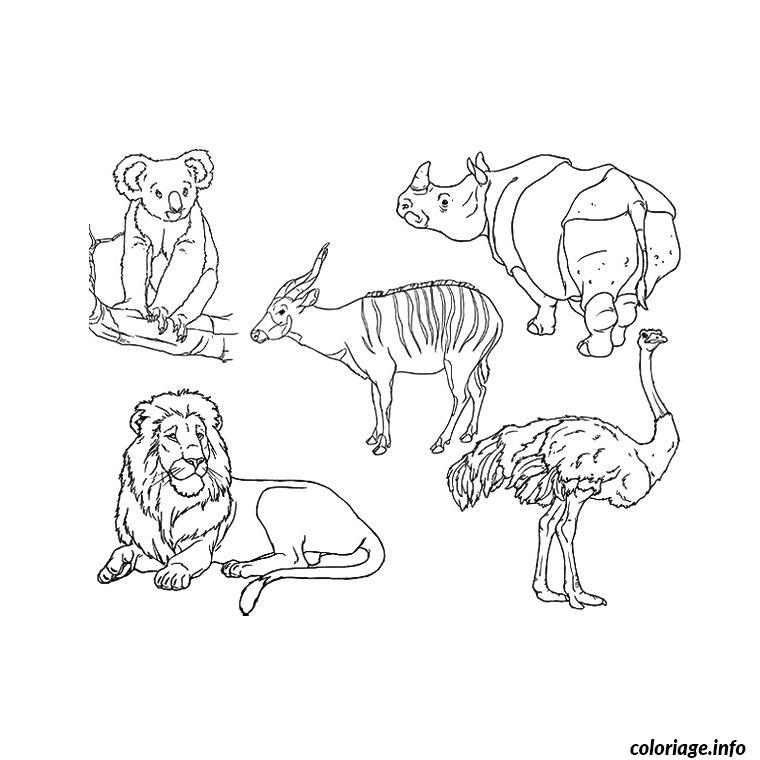 Cool Animaux Zoo Coloriage 59 Pour Coloriage Books for Animaux Zoo Coloriage