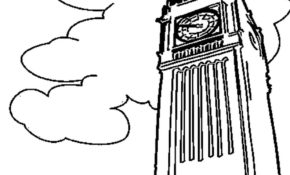 Cool Big Ben Coloriage 91 Pour Coloriage Pages for Big Ben Coloriage