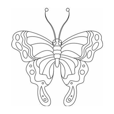 Cool Coloriage à Imprimer Papillon 84 Pour Coloriage Pages for Coloriage à Imprimer Papillon