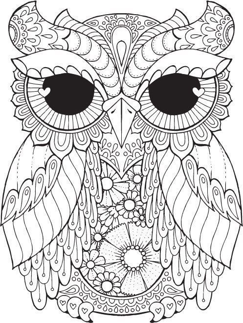 Cool Coloriage Chouette Adulte 73 Pour votre Coloriage Inspiration by Coloriage Chouette Adulte
