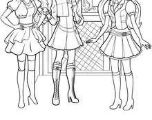Cool Coloriage De Barbie Apprentie Princesse 44 sur Coloriage Pages with Coloriage De Barbie Apprentie Princesse