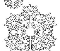 Cool Coloriage Flocons 33 sur Coloriage idée with Coloriage Flocons