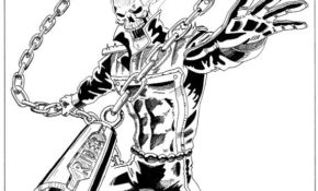 Cool Coloriage Ghost Rider 82 Avec supplémentaire Coloriage Pages by Coloriage Ghost Rider
