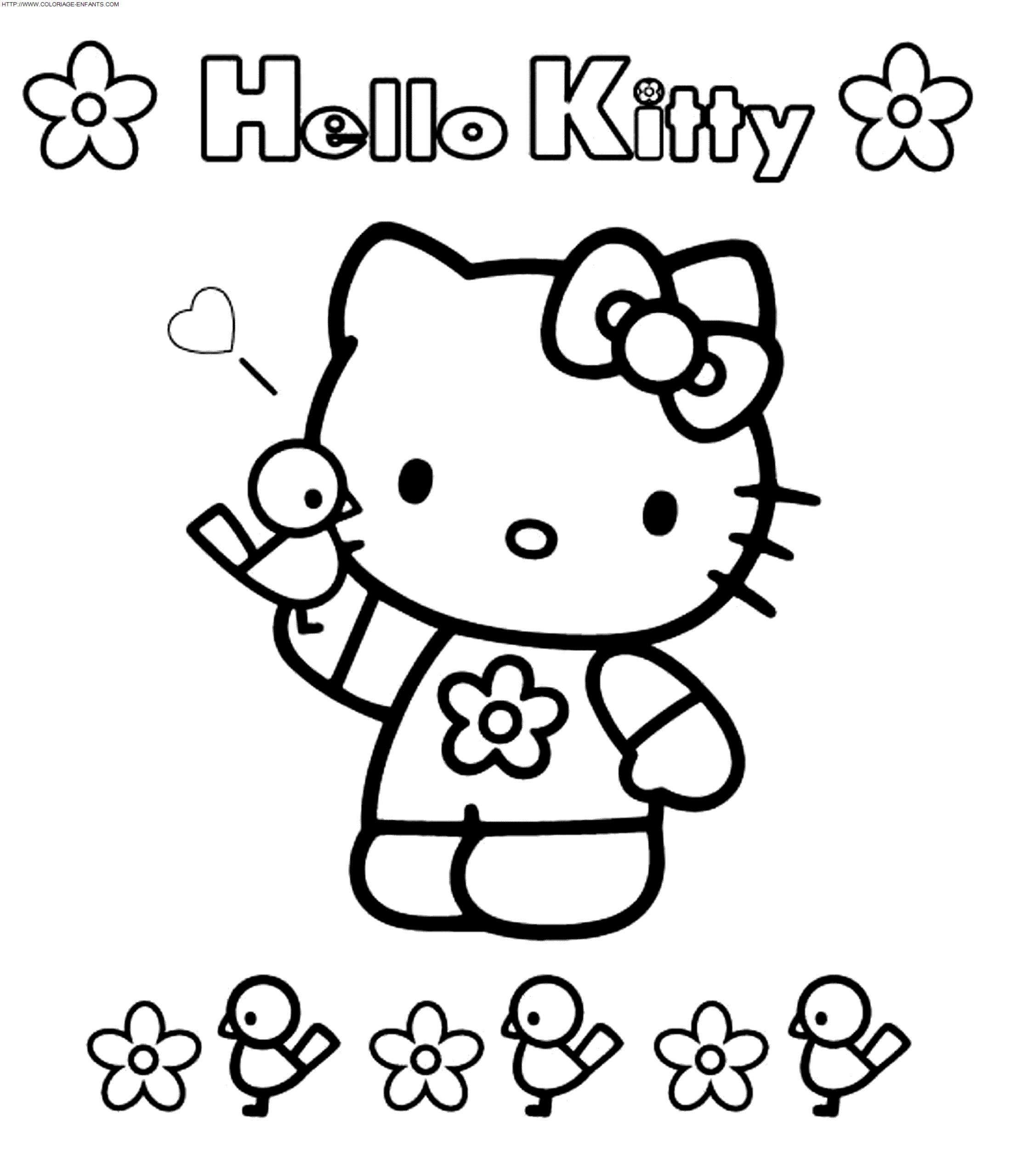 Cool Coloriage Hello Ketty 66 Dans Coloriage Books with Coloriage Hello Ketty