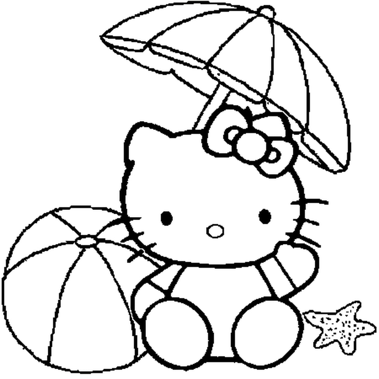Coloriage Howdy Kitty En Ligne | Coloriage Kids