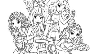 Cool Coloriage Lego Friends 48 Pour Coloriage Books for Coloriage Lego Friends