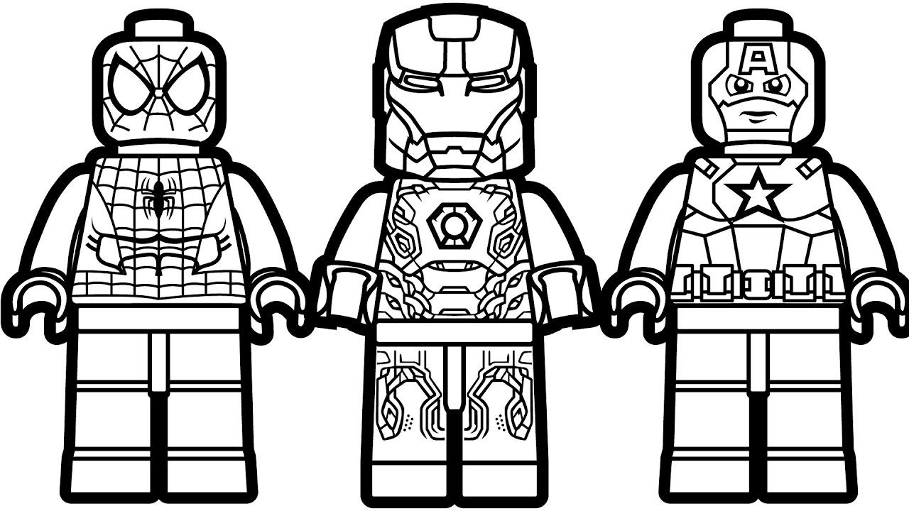 Cool Coloriage Lego Spiderman 90 Pour Coloriage Inspiration by Coloriage Lego Spiderman