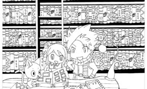 Cool Coloriage Manga Chibi 20 Pour Coloriage idée with Coloriage Manga Chibi
