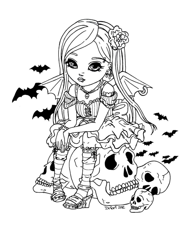 Cool Coloriage Manga Vampire 78 sur Coloriage Books by Coloriage Manga Vampire