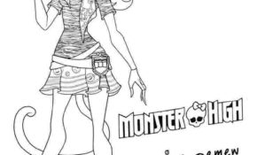 Cool Coloriage Monster High Catty Noir 57 Pour Coloriage Pages by Coloriage Monster High Catty Noir