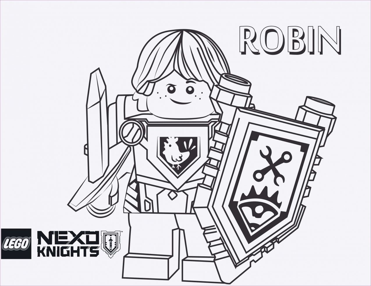 Cool Coloriage Nexo Knights A Imprimer 61 sur Coloriage Inspiration with Coloriage Nexo Knights A Imprimer