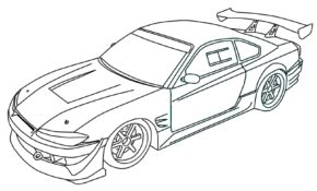 Cool Coloriage Nissan Gtr 54 Pour Coloriage Pages by Coloriage Nissan Gtr
